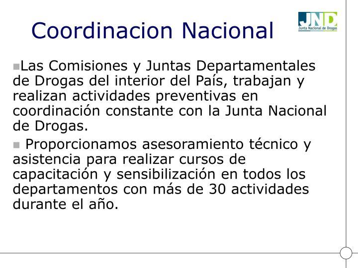 Coordinacion Nacional