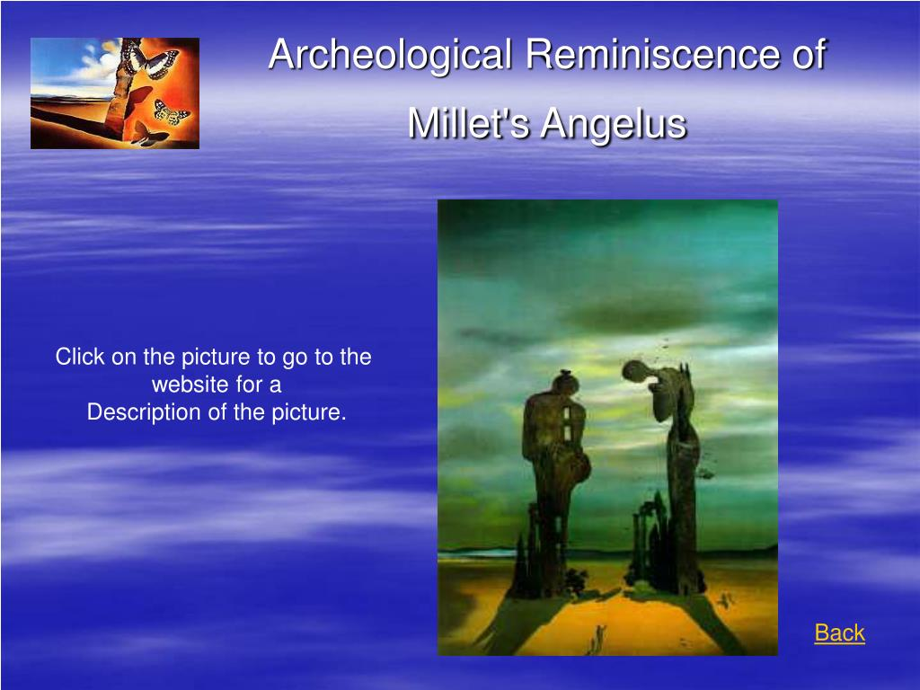 Archeological Reminiscence of Millet's Angelus