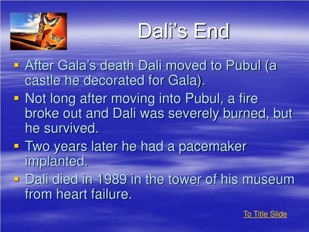 Dali's End