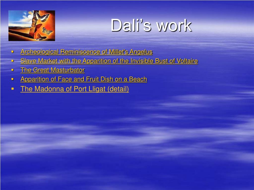 Dali's work