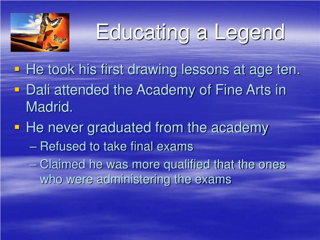 Educating a Legend