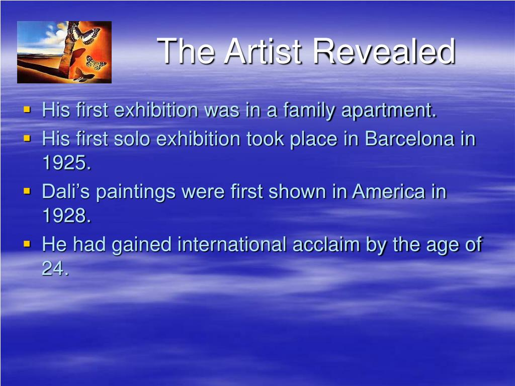 The Artist Revealed