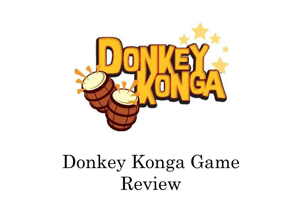 Donkey Konga Game Review