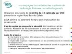 la campagne de contr le des cabinets de radiologie lib raux de radiodiagnostic