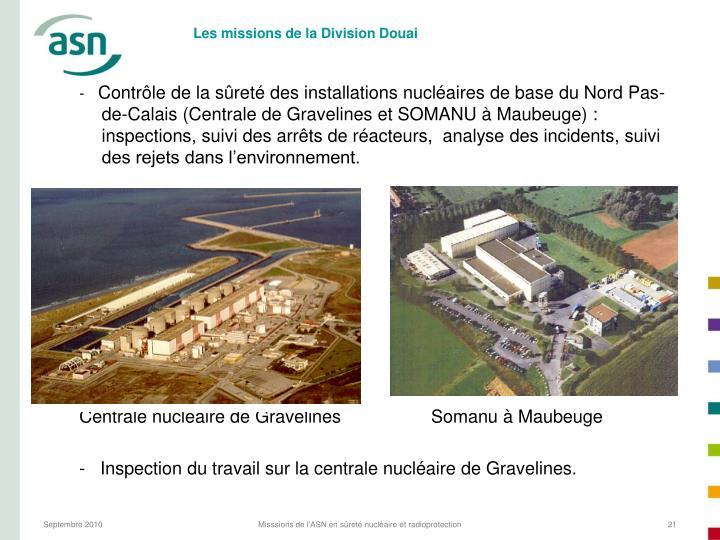 Les missions de la Division Douai
