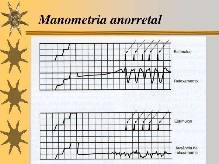 Manometria anorretal