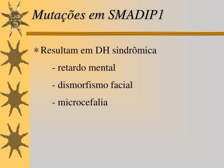 Mutações em SMADIP1