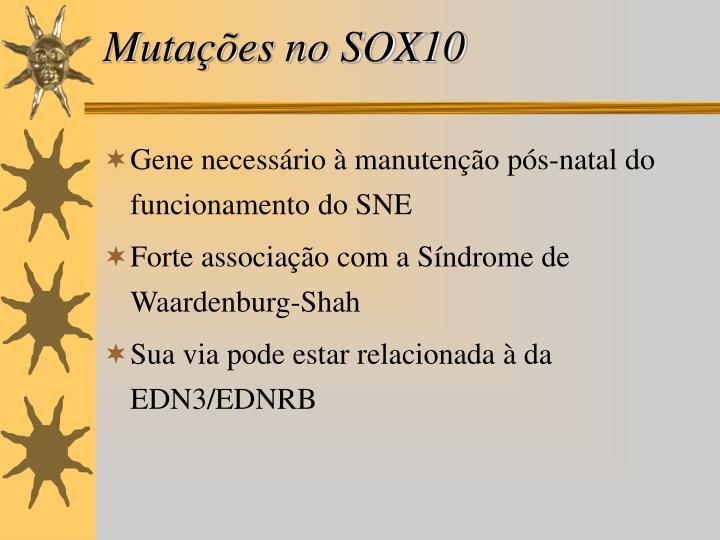 Mutações no SOX10