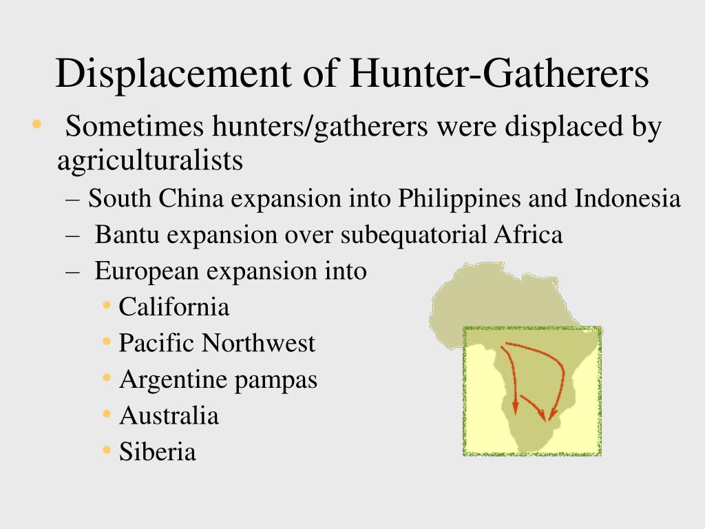Displacement of Hunter-Gatherers