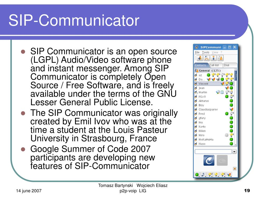 SIP-Communicator