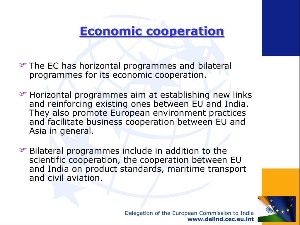 Economic cooperation