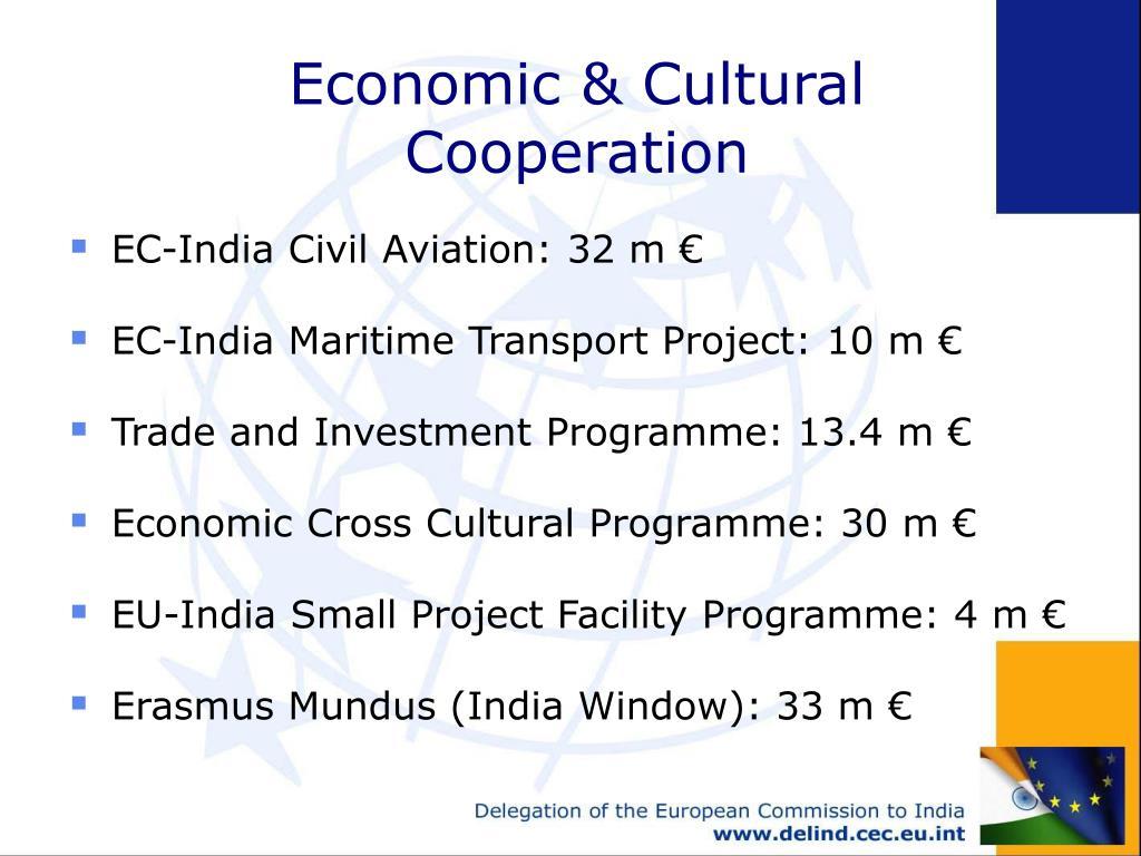 Economic & Cultural Cooperation