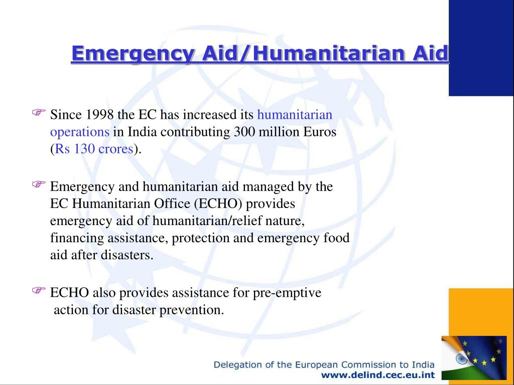 Emergency Aid/Humanitarian Aid