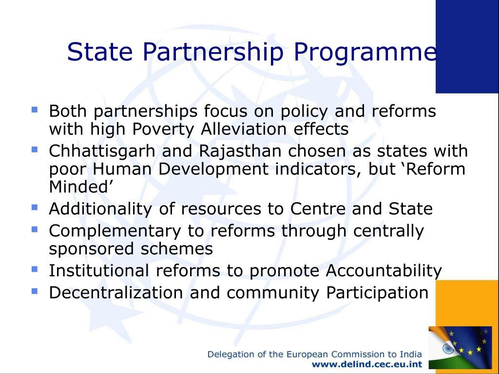 State Partnership Programme