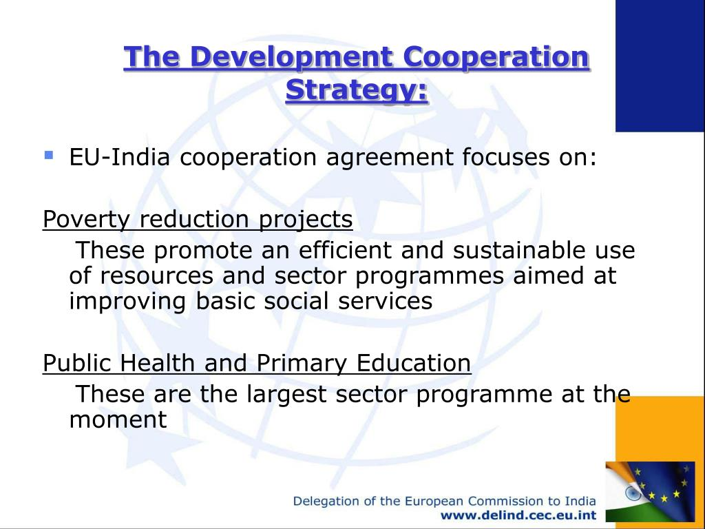 The Development Cooperation Strategy: