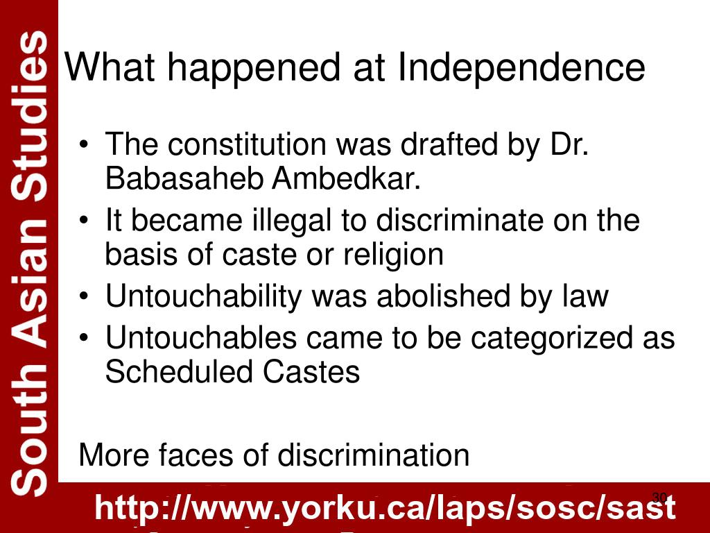 The constitution was drafted by Dr. Babasaheb Ambedkar.