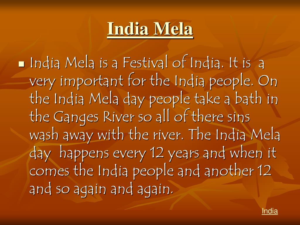 India Mela