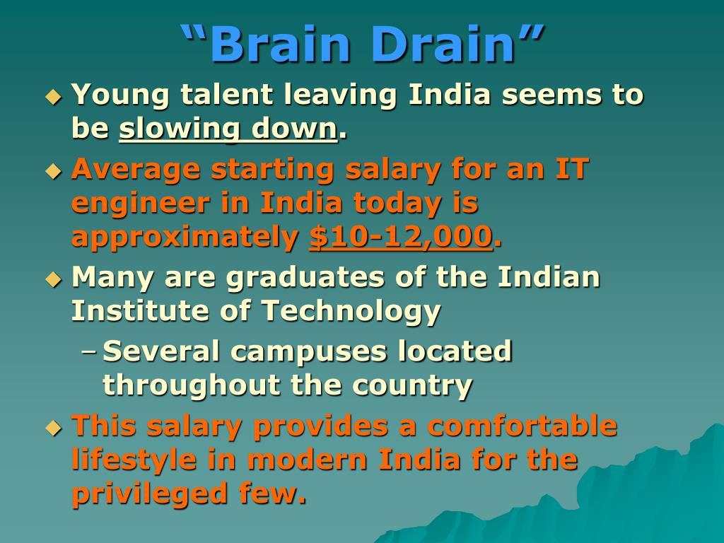 """""""Brain Drain"""""""