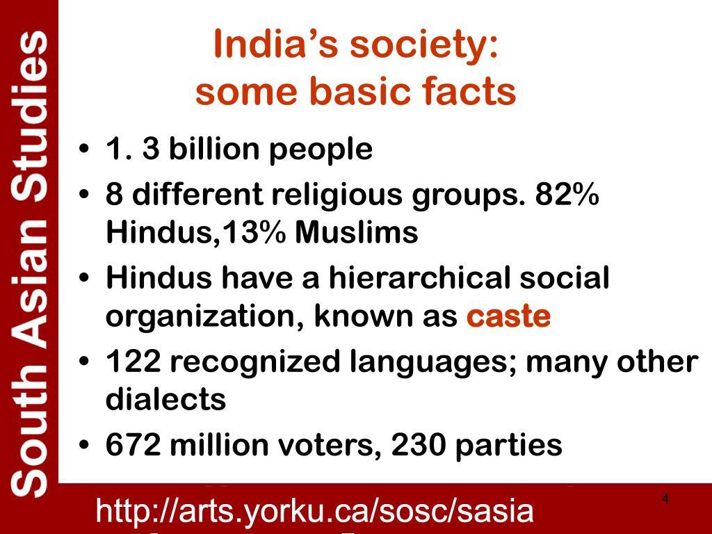 India's society: