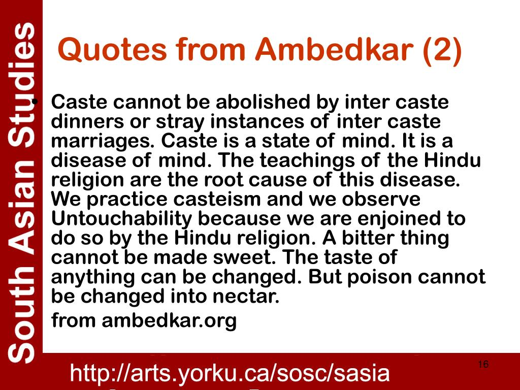 Quotes from Ambedkar (2)