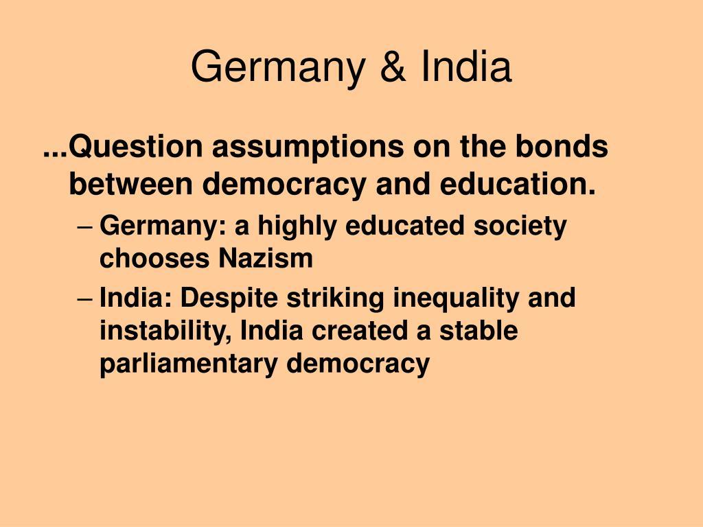 Germany & India