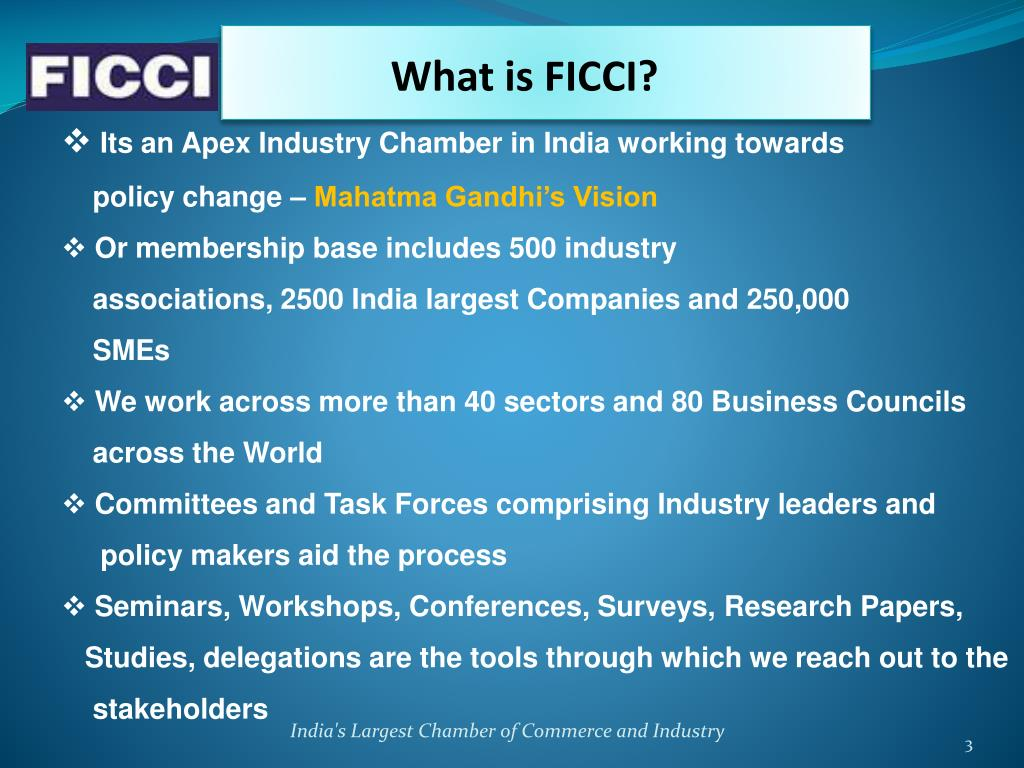 What is FICCI?
