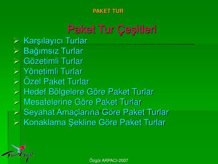 PAKET TUR