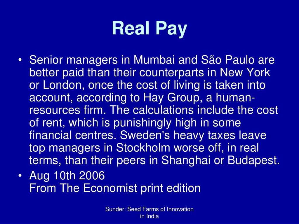 Real Pay