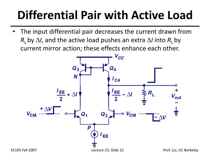 Differential Pair with Active Load