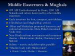 middle easterners mughals