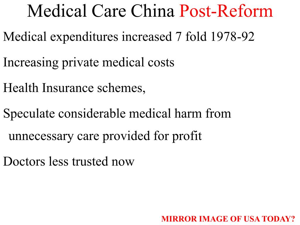 Medical Care China