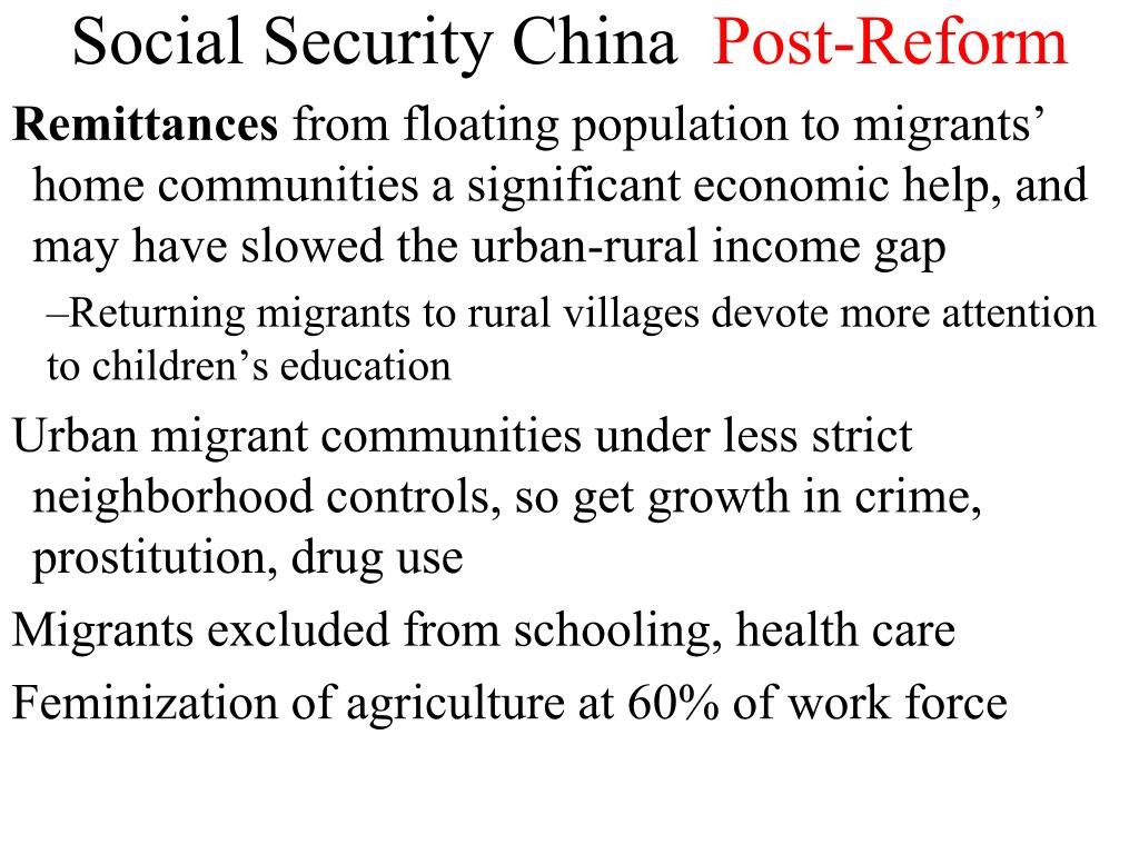 Social Security China