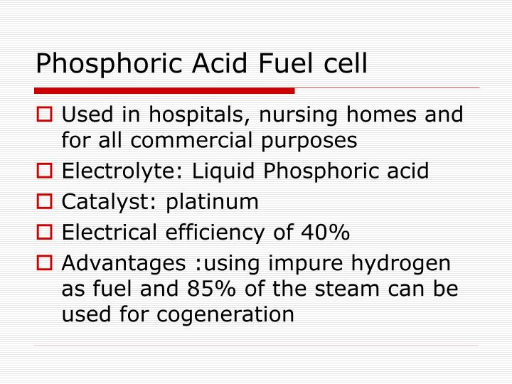 Phosphoric Acid Fuel cell