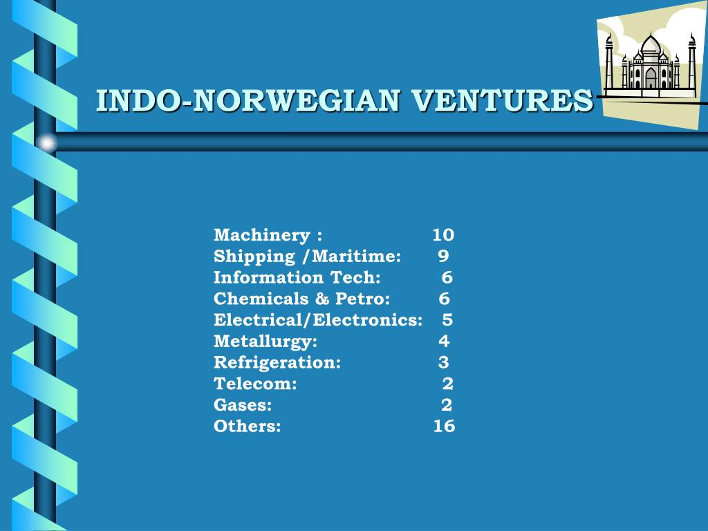 INDO-NORWEGIAN VENTURES