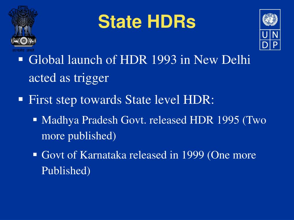 Global launch of HDR 1993 in New Delhi acted as trigger