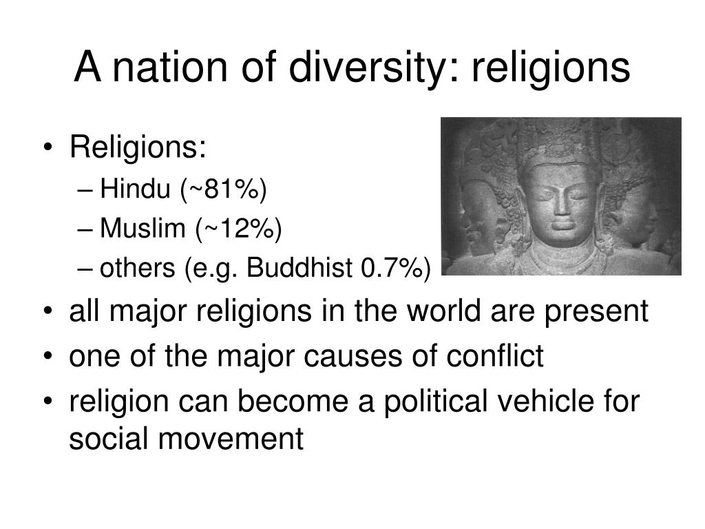 A nation of diversity: religions