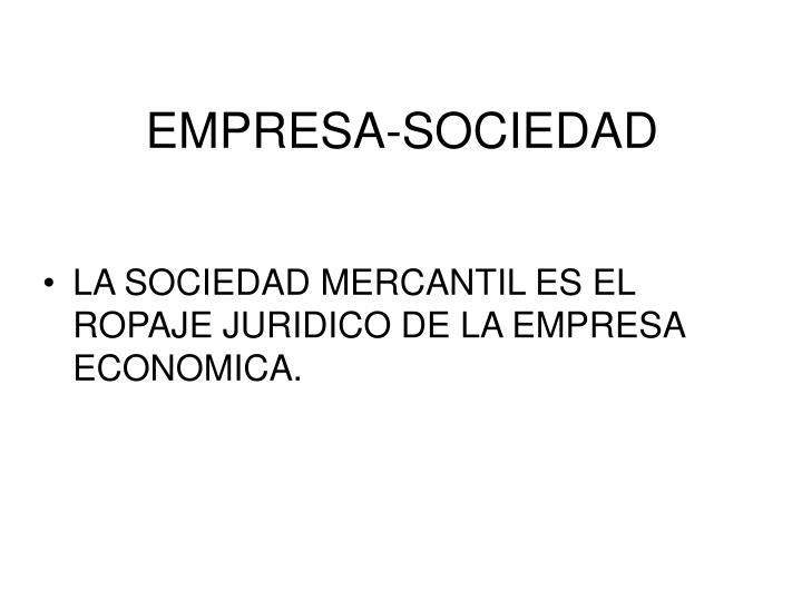 EMPRESA-SOCIEDAD