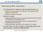 nowcasting mva estimation34