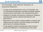 the example international yearbook of industrial statistics