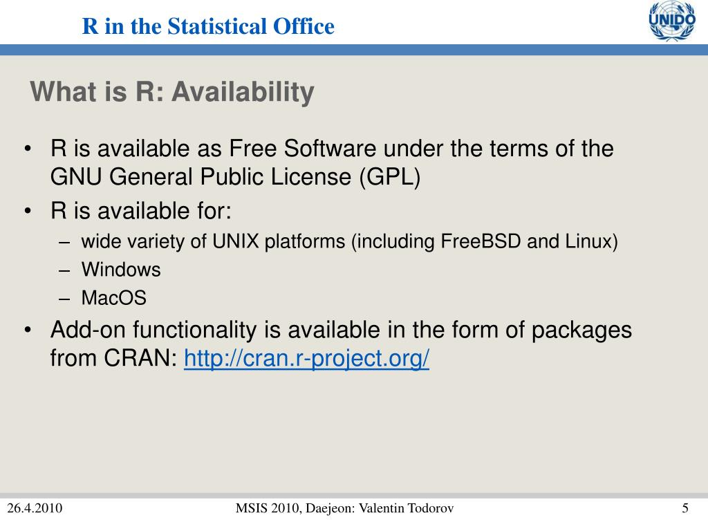 What is R: Availability