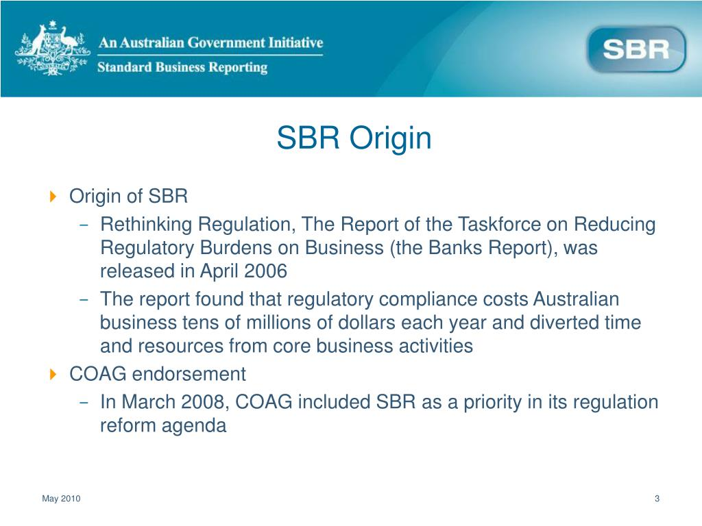 SBR Origin