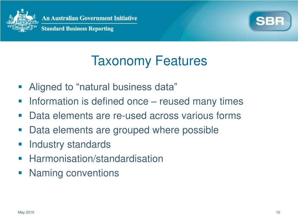Taxonomy Features