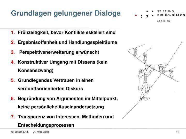 Grundlagen gelungener Dialoge