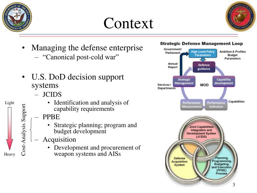 Managing the defense enterprise