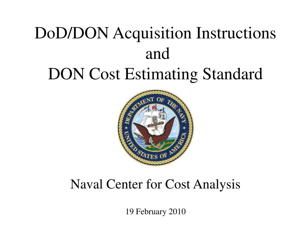 naval center for cost analysis 19 february 2010