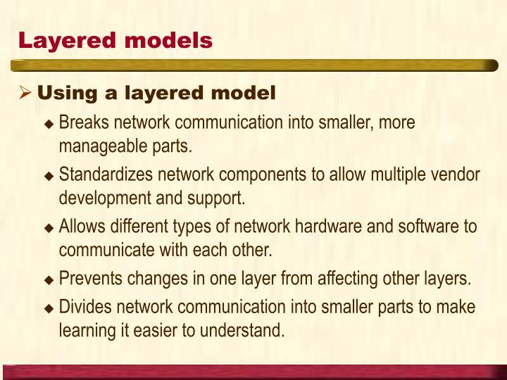 Layered models