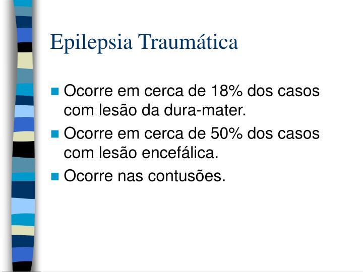 Epilepsia Traumática