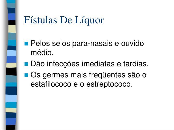 Fístulas De Líquor