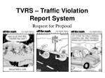 tvrs traffic violation report system