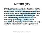 metro 22